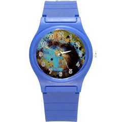 Blue Options 5 Round Plastic Sport Watch (s) by bestdesignintheworld