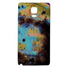 Blue Options 5 Galaxy Note 4 Back Case