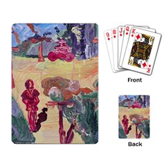Trail Playing Card
