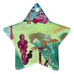 Trail 1 Ornament (star)