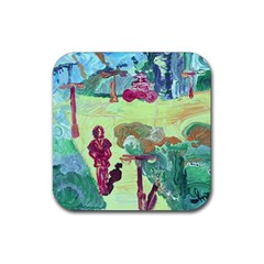 Trail 1 Rubber Coaster (square)