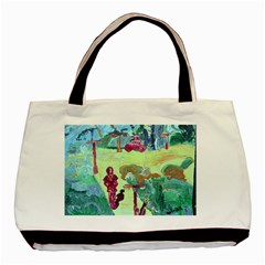 Trail 1 Basic Tote Bag (two Sides)