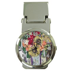 Sunflowers And Lamp Money Clip Watches
