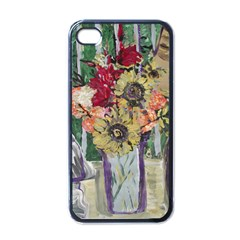 Sunflowers And Lamp Apple Iphone 4 Case (black) by bestdesignintheworld