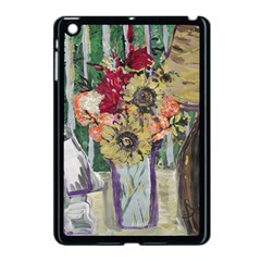 Sunflowers And Lamp Apple Ipad Mini Case (black) by bestdesignintheworld