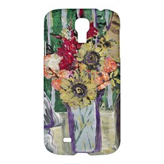 Sunflowers And Lamp Samsung Galaxy S4 I9500/i9505 Hardshell Case