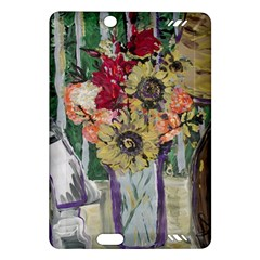 Sunflowers And Lamp Amazon Kindle Fire Hd (2013) Hardshell Case