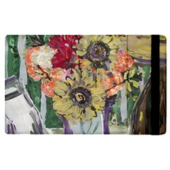 Sunflowers And Lamp Apple Ipad Pro 9 7   Flip Case by bestdesignintheworld