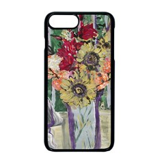 Sunflowers And Lamp Apple Iphone 8 Plus Seamless Case (black)