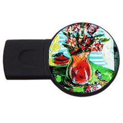 Dry Flowers On Your Windows Usb Flash Drive Round (2 Gb)