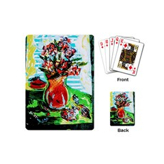 Dry Flowers On Your Windows Playing Cards (mini)