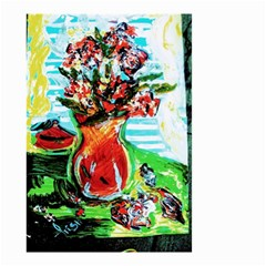 Dry Flowers On Your Windows Small Garden Flag (two Sides)