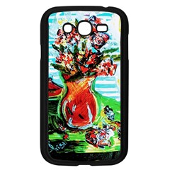 Dry Flowers On Your Windows Samsung Galaxy Grand Duos I9082 Case (black)