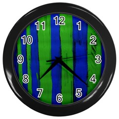 Stripes Wall Clocks (black)