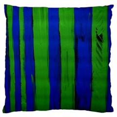 Stripes Large Cushion Case (one Side)
