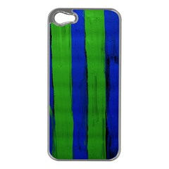 Stripes Apple Iphone 5 Case (silver)