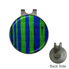 Stripes Hat Clips With Golf Markers