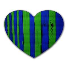 Stripes Heart Mousepads