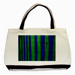 Stripes Basic Tote Bag (two Sides)