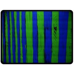 Stripes Double Sided Fleece Blanket (large)  by bestdesignintheworld