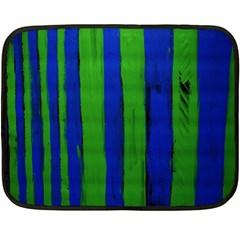 Stripes Fleece Blanket (mini) by bestdesignintheworld