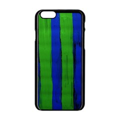 Stripes Apple Iphone 6/6s Black Enamel Case by bestdesignintheworld