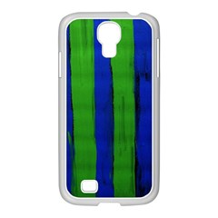 Stripes Samsung Galaxy S4 I9500/ I9505 Case (white)