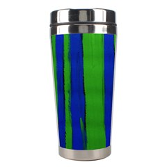 Stripes Stainless Steel Travel Tumblers