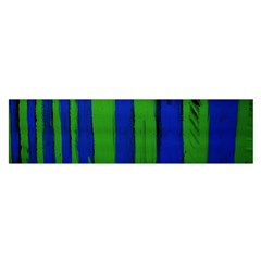 Stripes Satin Scarf (oblong)