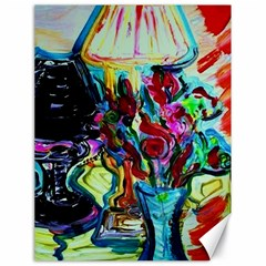 Still Life With Two Lamps Canvas 18  X 24   by bestdesignintheworld