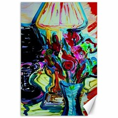 Still Life With Two Lamps Canvas 24  X 36  by bestdesignintheworld