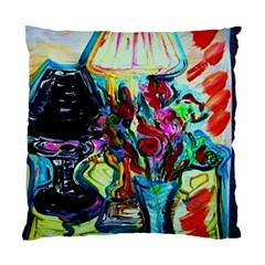 Still Life With Two Lamps Standard Cushion Case (one Side)