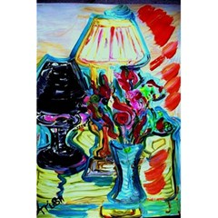 Still Life With Two Lamps 5 5  X 8 5  Notebooks by bestdesignintheworld
