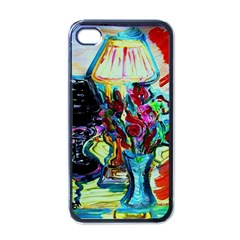 Still Life With Two Lamps Apple Iphone 4 Case (black)