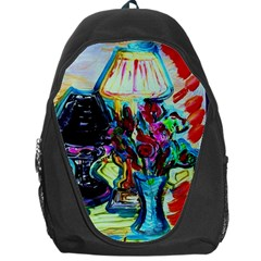 Still Life With Two Lamps Backpack Bag