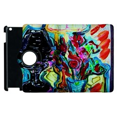 Still Life With Two Lamps Apple Ipad 3/4 Flip 360 Case by bestdesignintheworld