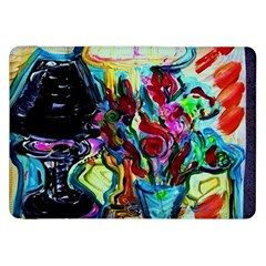Still Life With Two Lamps Samsung Galaxy Tab 8 9  P7300 Flip Case