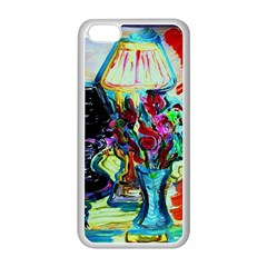 Still Life With Two Lamps Apple Iphone 5c Seamless Case (white)