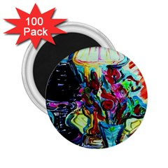 Still Life With Two Lamps 2 25  Magnets (100 Pack)