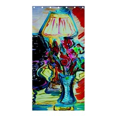 Still Life With Two Lamps Shower Curtain 36  X 72  (stall)