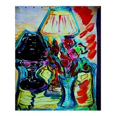 Still Life With Two Lamps Shower Curtain 60  X 72  (medium)