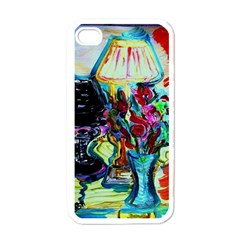 Still Life With Two Lamps Apple Iphone 4 Case (white)