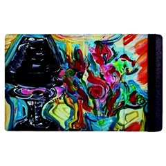 Still Life With Two Lamps Apple Ipad 3/4 Flip Case by bestdesignintheworld