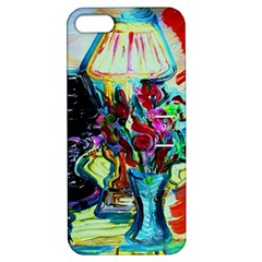 Still Life With Two Lamps Apple Iphone 5 Hardshell Case With Stand
