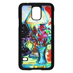 Still Life With Two Lamps Samsung Galaxy S5 Case (black)