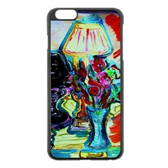 Still Life With Two Lamps Apple Iphone 6 Plus/6s Plus Black Enamel Case