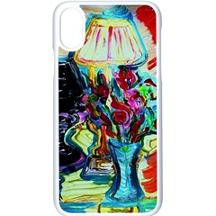 Still Life With Two Lamps Apple Iphone X Seamless Case (white)