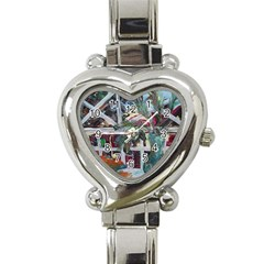 Still Life With Tangerines And Pine Brunch Heart Italian Charm Watch