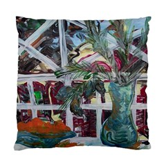Still Life With Tangerines And Pine Brunch Standard Cushion Case (two Sides)