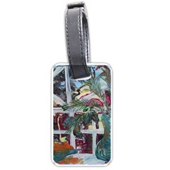 Still Life With Tangerines And Pine Brunch Luggage Tags (one Side)  by bestdesignintheworld